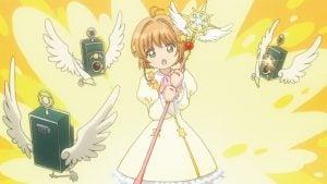 Sakura Cardcaptor Clear Card   Episodio 7 – «Sakura juega a las traes en el jardín»