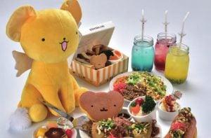 Sakura Cardcaptor Café de Tokyo, todos los platos favoritos de Kero en un sólo sitio