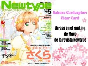 Sakura Cardcaptor: Clear Card arrasa en el ranking de Mayo de la revista Newtype