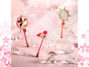 Los báculos de Sakura Cardcaptor que se transforman en adorables mini bolígrafos
