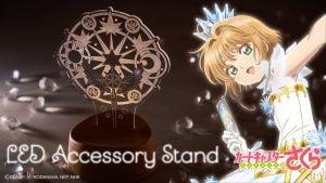 Cardcaptor Sakura Clear Card: Soporte para accesorios con luz LED