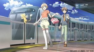 Cardcaptor Sakura y el servicio de trenes de Japón ofrecen premios especiales temáticos.
