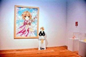 Vestidos reales y golosinas llegan al museo de Sakura Cardcaptor