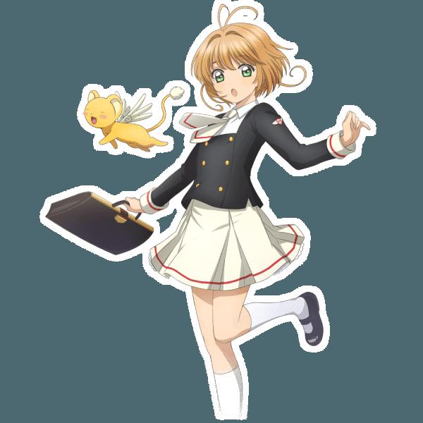 Cardcaptor Sakura Clear Card Sakura en traje escolar