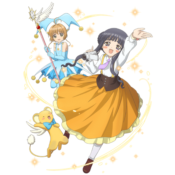 Cardcaptor Sakura Clear Card Tomoyo y Sakura