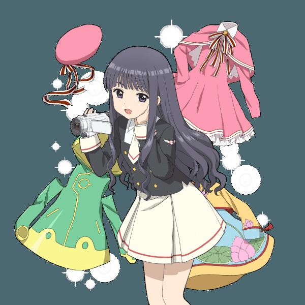 Cardcaptor Sakura Clear Card Tomoyo y los-trajes
