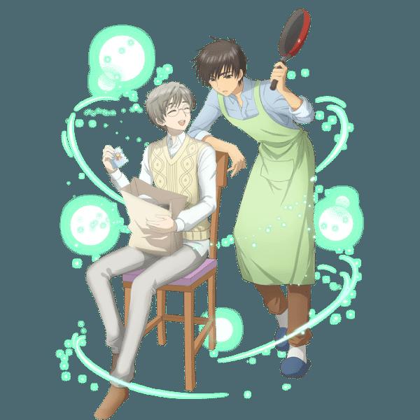 Cardcaptor Sakura Clear Card Touya y Yukito